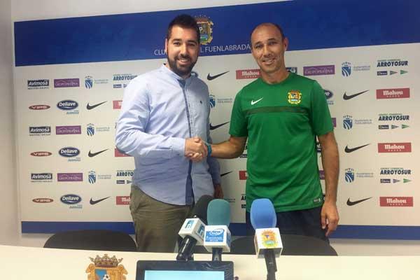 Antonio Calderón ha sido presentado oficialmente como nuevo entrenador azulón