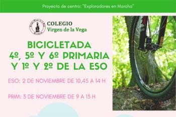 Más de 250 alumnos del Colegio Virgen de la Vega participarán en esta actividad