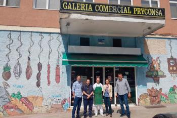 La portavoz de Cs, Patricia de Frutos, se ha reunido con la Directiva de la galería