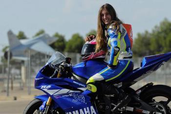 Conocemos a la motorista madrileña Sara Román