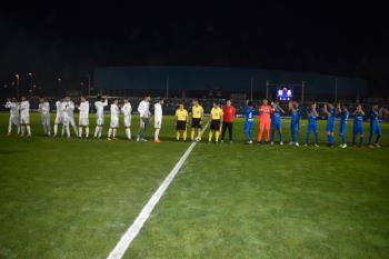 El Real Madrid gana con dos más que dudosos goles de penalti al equipo fuenlabreño en una noche histórica para nuestra ciudad