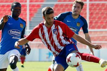 El Fuenla venció en el Cerro del Espino al Atleti B por 0 a 2