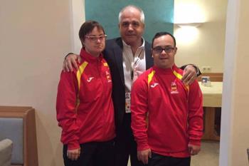 Víctor Manuel Prieto ha conseguido un quinto puesto en el Mundial de para-karate