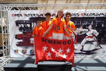 Nuestro club de Karate ha vuelto a cosechar éxitos en el Open Internacional de Andorra