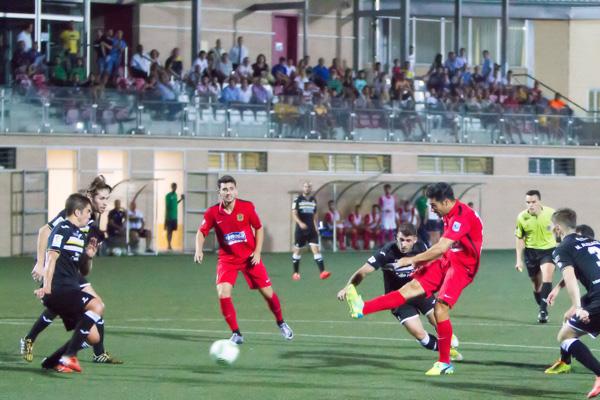 Los de Visnjic vencieron 0 a 1 al Inter de Madrid de Tello