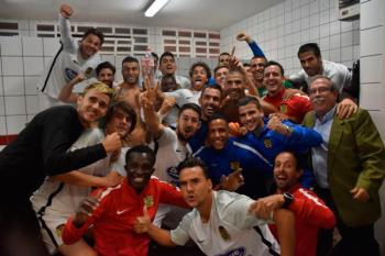 Los nuestros vencieron en Segovia por 1 a 2