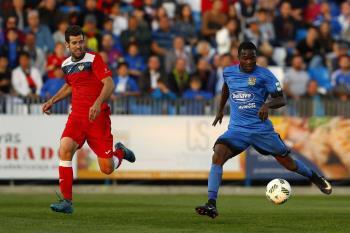 El C.F. Fuenlabrada empató a 0 en la ida de la final de la Copa Federación