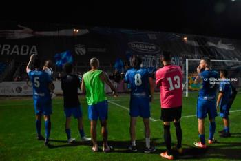 El C.F. Fuenlabrada venció por 2 a 0 al Mérida en la Copa del Rey