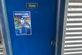 Sucedió durante la pasada madrugada en las oficinas del Estadio Fernando Torres