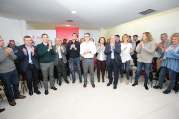 El ex lehendakari oficializa su candidatura con el apoyo de la división socialista madrileña