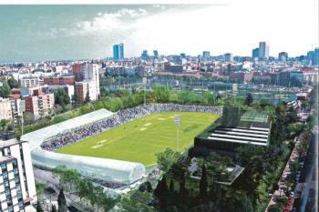 Han arrancado las obras del estadio de Vallehermoso, que reabrirá sus puertas en octubre del próximo año