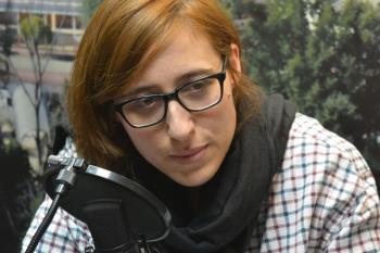 Recibimos en el programa a Cristina Arribas, poeta mostoleña que presenta su segundo trabajo,