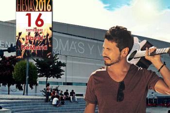El cantante jerezano actúa hoy, viernes 16 de septiembre, en los Campos de Fútbol de La Aldehuela