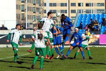 Un gol de Nana en el 90 da la victoria a los nuestros ante el Sestao River
