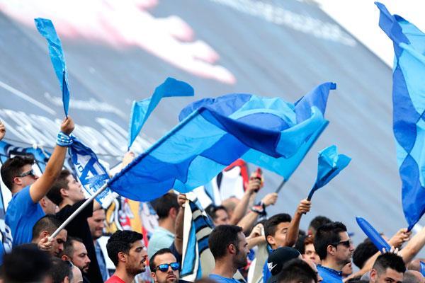 Llega la Peña Fuenlabrista Fiebre Azul