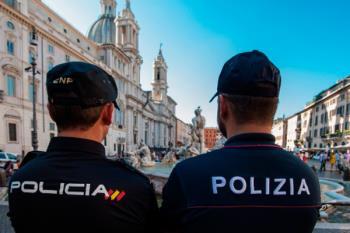 Policías nacionales de diferentes países patrullarán las calles de Madrid junto a otros policías españoles