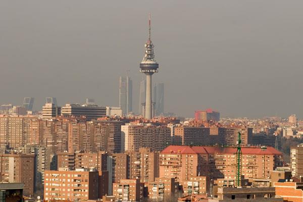 Madrid respiró un aire más limpio en 2016