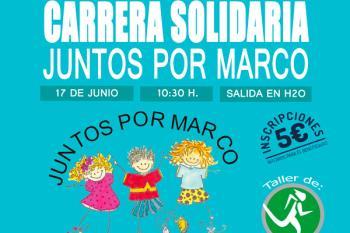 Rivas-Vaciamadrid prepara una carrera solidaria para Marco, un niño con Lisencefalia