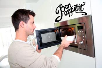 Te presentamos un menú rico, fácil, rápido y… limpio, tan solo, cocinando en microondas.