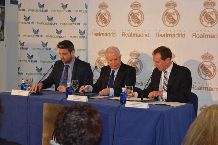El centro comercial seguirá su vinculación con la fundación madridista