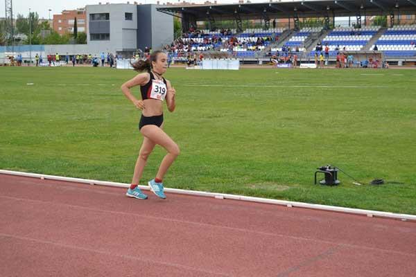 Silvia Millar, oro en el Campeonato de Madrid Infantil
